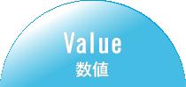 Value 数値